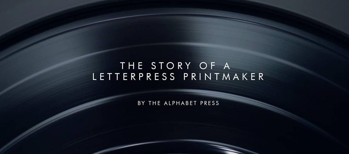 The Story of A Letterpress Printmaker