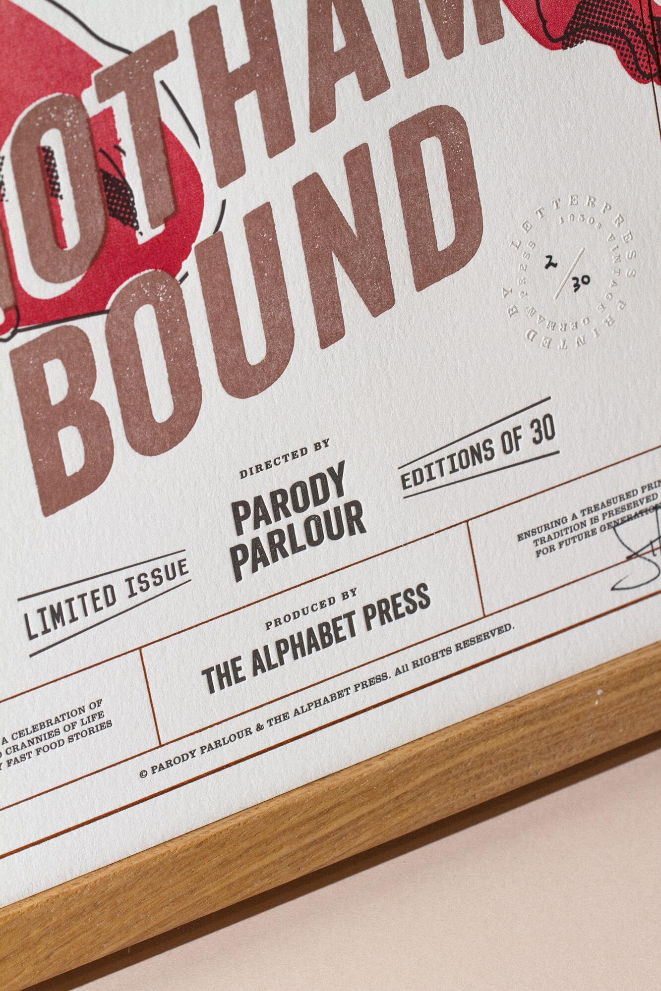 The Alphabet Press x Parody Parlour